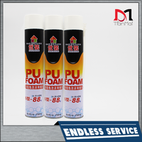 HOT SALE one component waterproof fireproof expanding 750ml PU foam sealant for construction joints