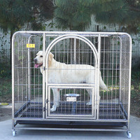 animal cage medium portable strong wicker dog cages dog crate