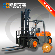 Good fuel economy of 7 tons of diesel forklift truck