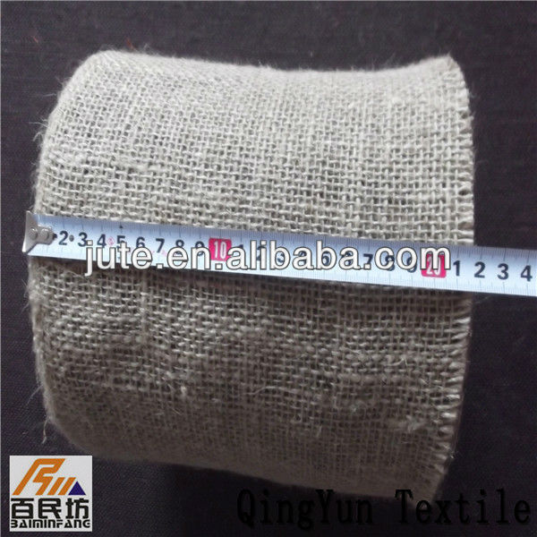 100% linen jute fabric for packing tube iron rope and pipes