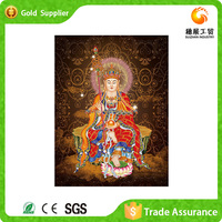 Modern design art and crafts 3d painting of gemstone buddha oil painting