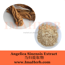 Factory Supply Nature dry angelica root extract gynecological medicine