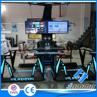 All kinds of VR Station simulator,high quality, diversity of games and high show rate