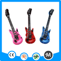 Yiwu plastic inflatable guitar toy