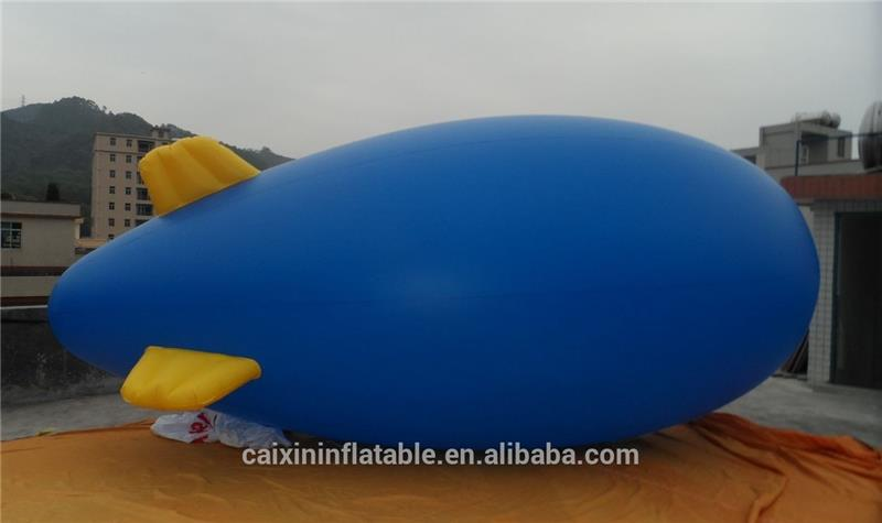 Large PVC Inflatable AirShip/ Inflatable Zeppelin For Advertising UAE flag