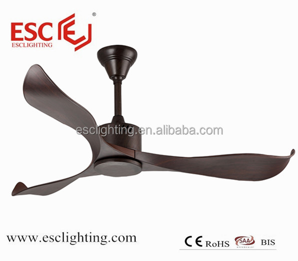ceiling fan with 5speed and 3blade 52inch ceiling fan DC motor ceiling fan with out light