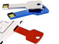 Key shape metal 4gb usb flash disk drive promotion use usb disk