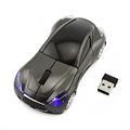 Car Gaming Mause Wireless Optical Ergonomic Computer Mouse with Breathing Backlit