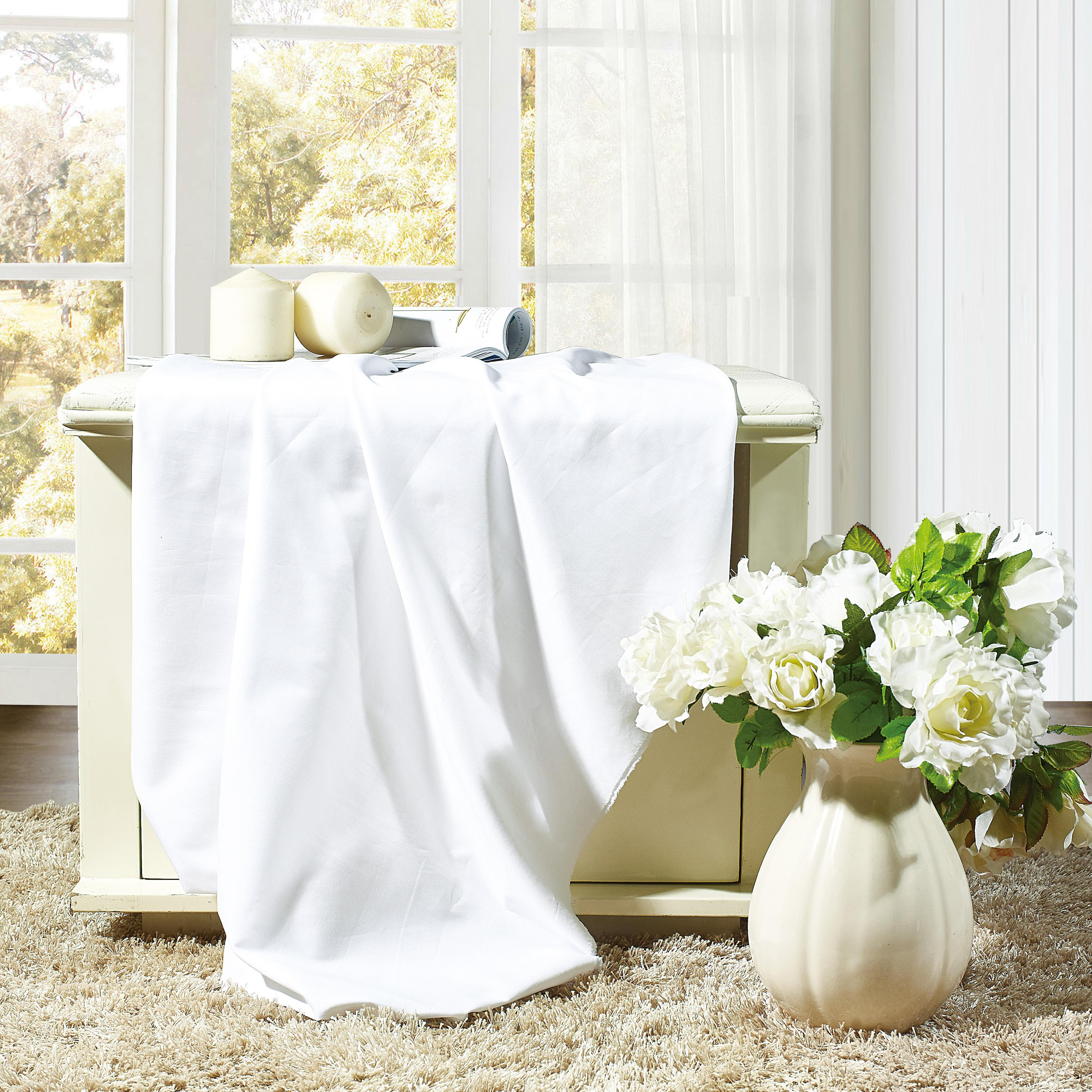 Best selling products white silk cotton fabric for home and hospital