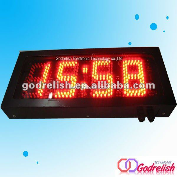 Brand new outdoor clock digital length counter meter