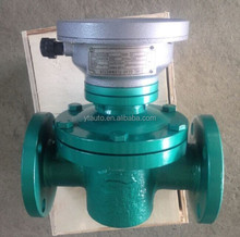 resetable type oval gear flow meter for diesel fuel/crude oil consumption with zero returning pointer