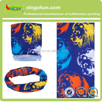 animal Heat Transfer Printed multifunctional Headwear