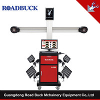 ROADBUCK 3D High accuracy car repair equipment wheel alignment machine price balancing machine