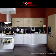 Hot sales high gloss UV paint lacquer modern kitchen cabinets