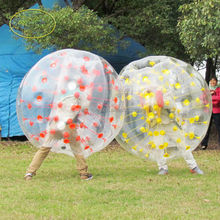 Crazy!! inflatable bubble footballs,bumper ball prices