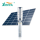 High flow rate 6 inch capacity solar submersible water pump