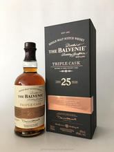 25 Years Triple Cask Balvenie Single Malt Scotch Whisky