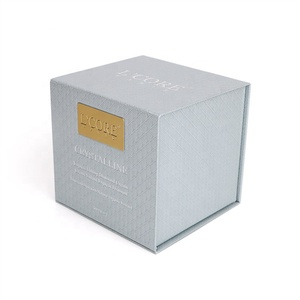 Shing E Chang luxury cardboard cosmetic box packaging with hot stamping