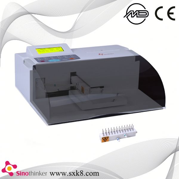 SK2000C ISO 13485 fully automated elisa analyser washer equipment