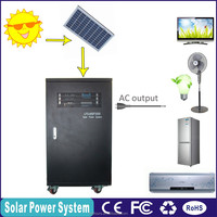 2016 hot sale all-in-one for home air conditioner , freezer and solar cooker use 3KW solar energy product