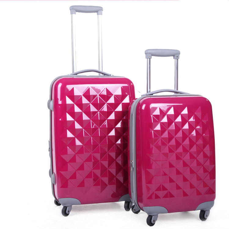 ABS+PC luggage 4 spinner wheels trolley suitcase