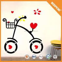 New product epoxy innocuous decorative home sticker vinyl wall stickers
