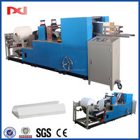 Automatic counting embossing C folding kitchen hand towel paper machinery