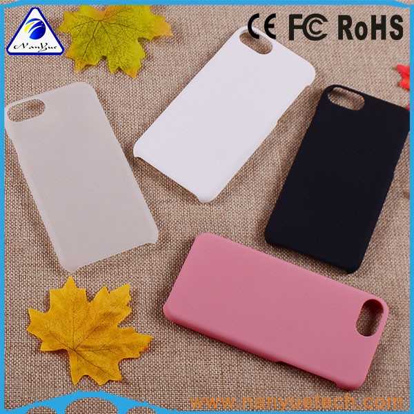 new rubberized oil coating pc mobile phone case for iphone 7