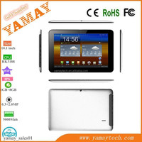 "10.1"" android rockchip 3188 quad core support external 3G dongle ebook tablet MID"