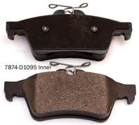 China 5W93-2200-AA Rear Disc brake pads china supplier