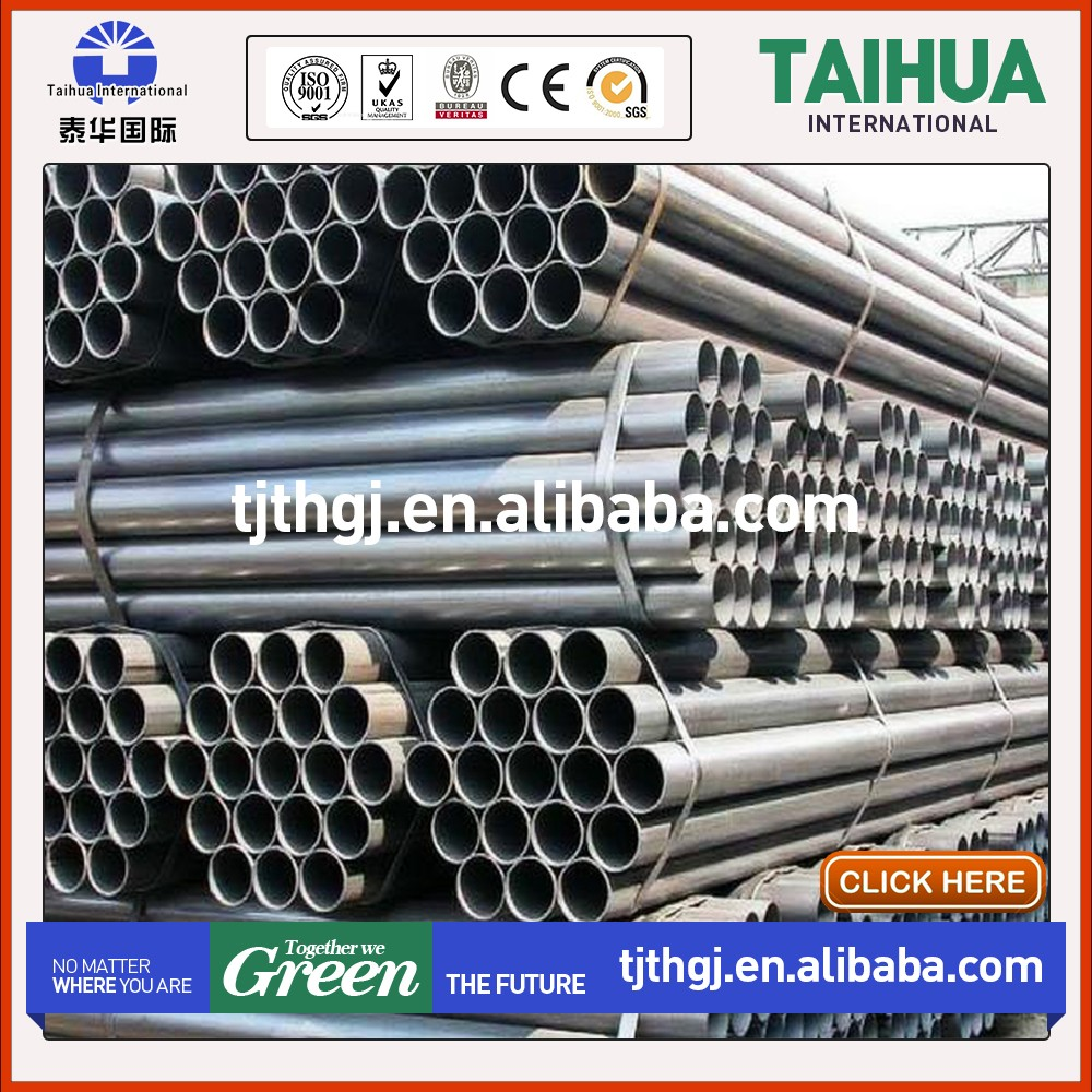 Galvanized welded carbon steel pipe for building material