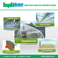 Hydroponics Agriculture Plastic Film Greenhouse