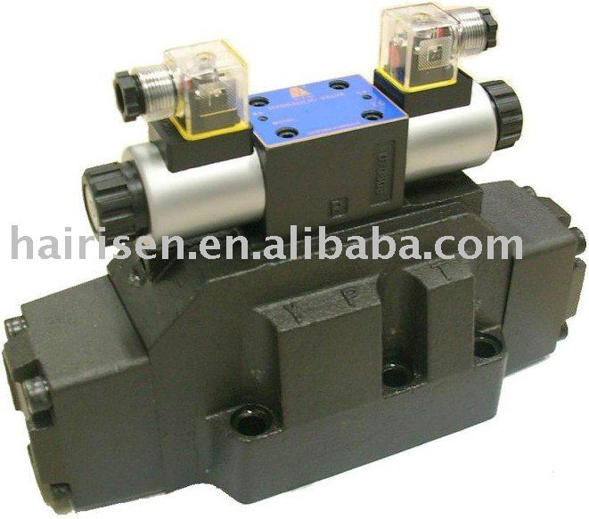 4WEH/4WH series solenoid pilot/ hydraulic operated directional control valves