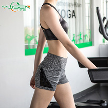 wholesale custom fitness Activewear running Booty Women yoga shorts