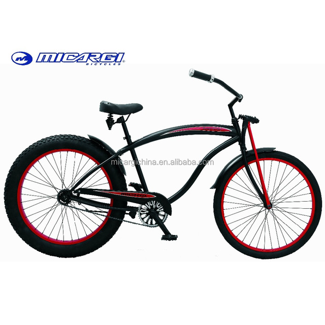 Micargi fat tire bikes 26 Springer Fork beach cruiser Bicycle