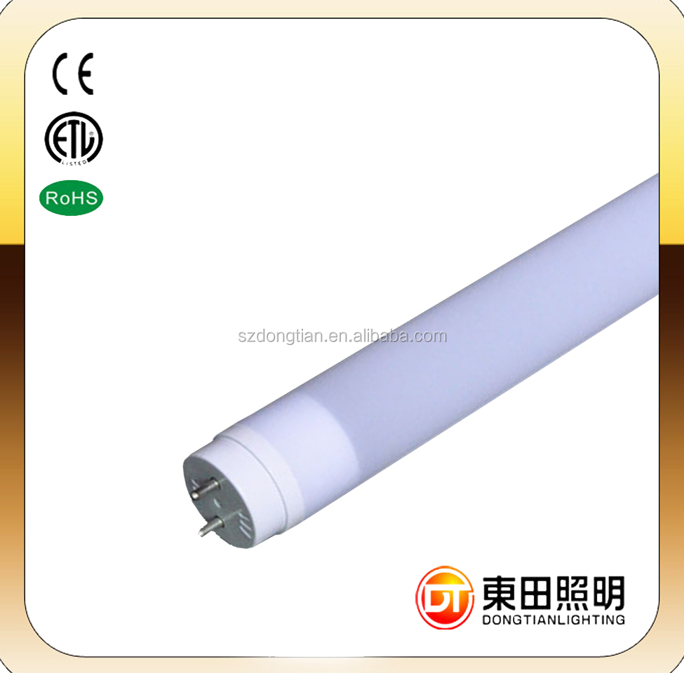 LED NANO T8 tube, UL nano PC LED tube light T8 600mm 1200mm 1500mm, 9w 16w 18w tube