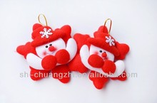 lovely christmas snowman /christmas decorative snowman/stuffed toy