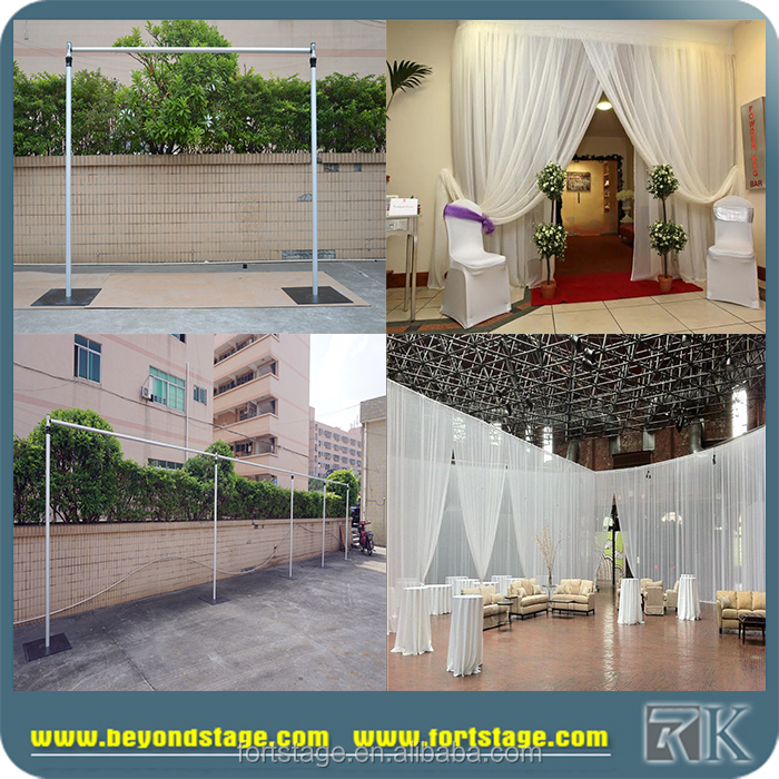 Aluminum portable pipe and drape system for sale