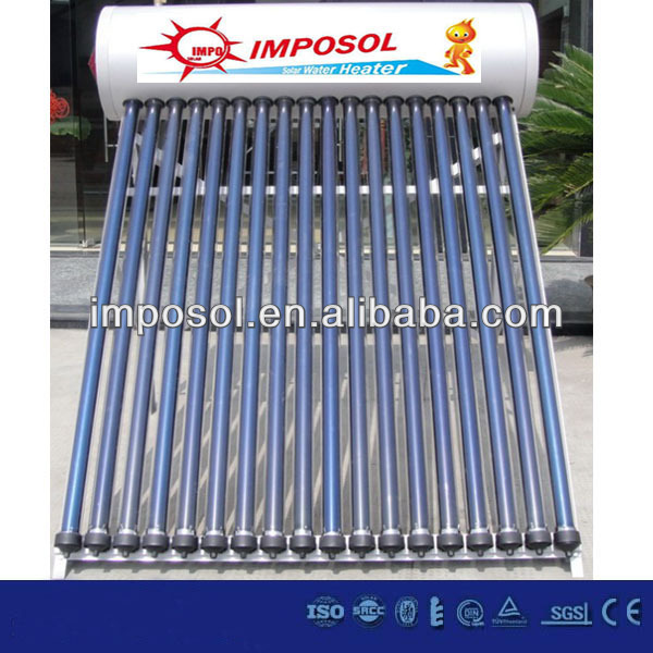 2014 hot sell jain solar water heater in china