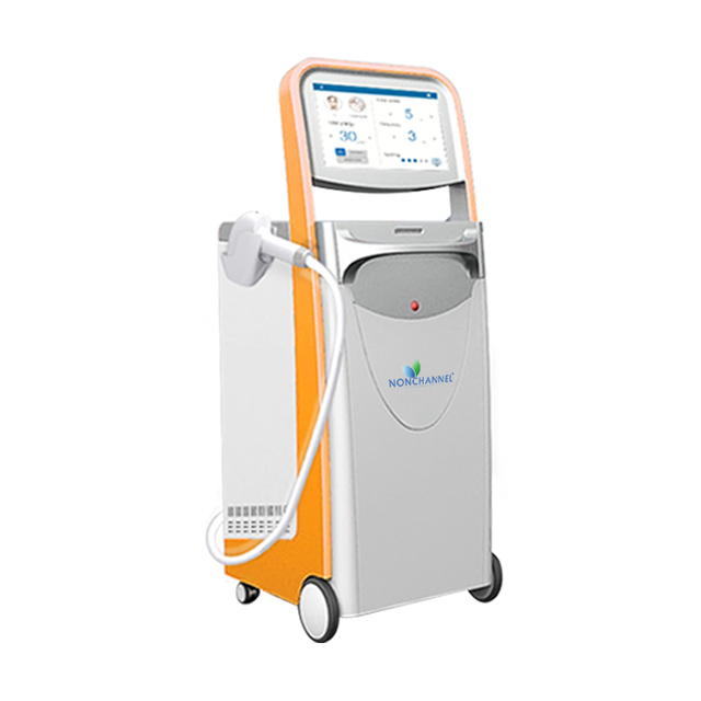 Professional cosmetic laser, epilator hair removal, laser therapy