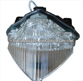 Two years warranty led tail light on motorcycle