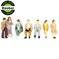 all seated model railway people scale model sitting figures scenery model making