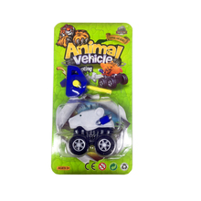 Bear Animal Car Kids Plastic Launch Friction Power Toys Cars