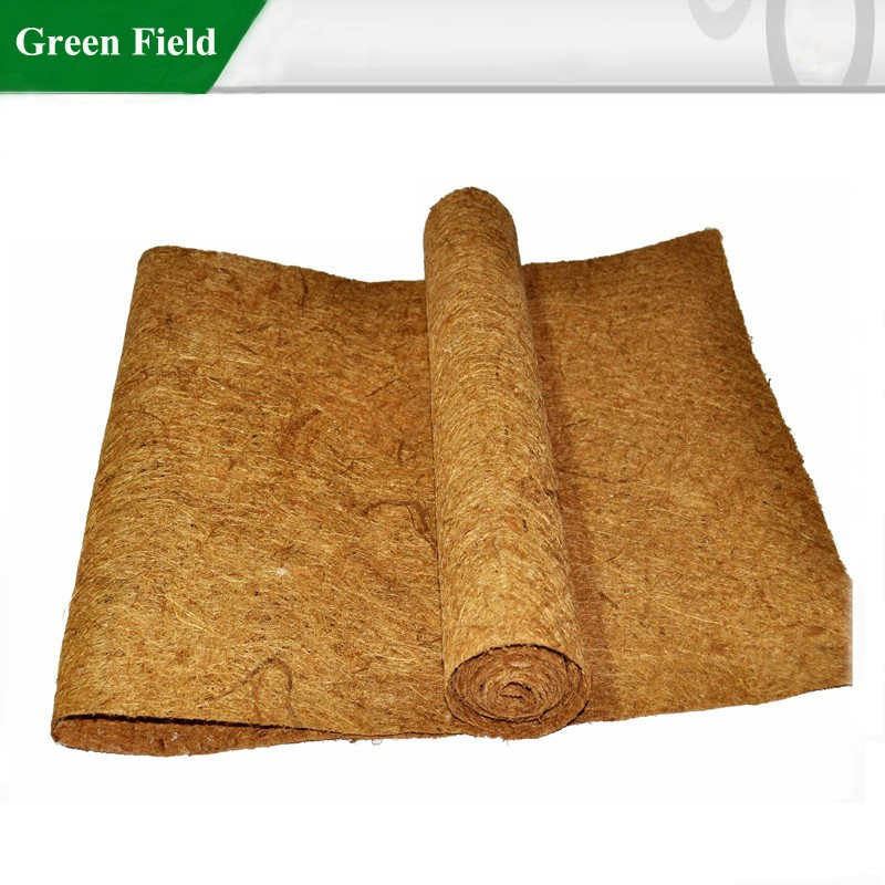 Outdoor coco fiber mulch mat coco ice carpet