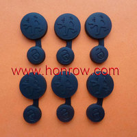 New style of Peugeot 2 button car remote button rubber key pad