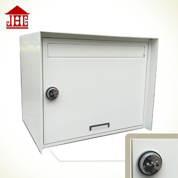 JHC-2063 coded lock letter box/galvanized steel wall mounted mailbox/coded lock letter box mailbox
