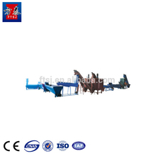 Fangtai fully automatic 3000kg/h PP PE Plastic washing recycling line / Plastic Recycling Plant