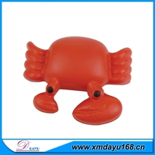 Best Selling Kids Favorite Gift Stress Relief Crab Shape PU Toy Ball