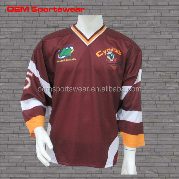 new design wholesale blank unique custom ice hockey jersey