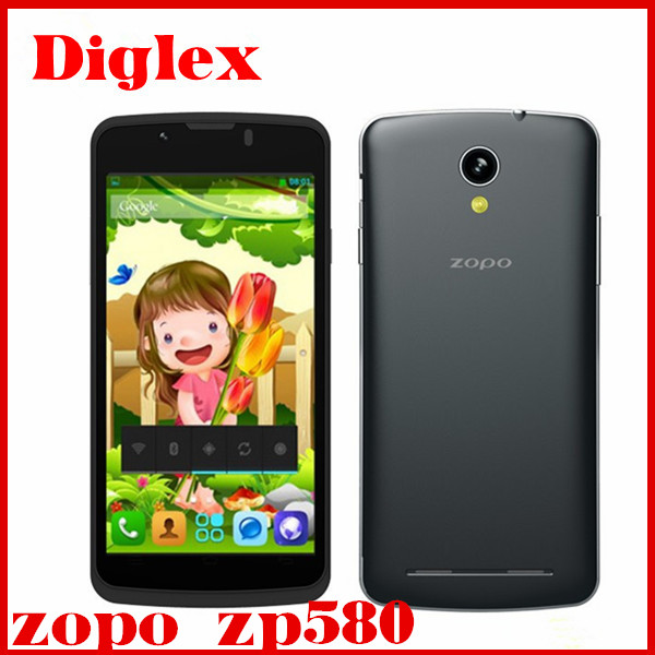 New cheap zopo zp580 mtk6572 3g wcdma android 4.4 wcdma wifi mobile phone